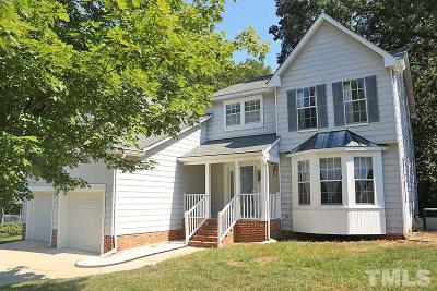 Cary Single Family Home Pending: 124 Hidden Bluff Lane