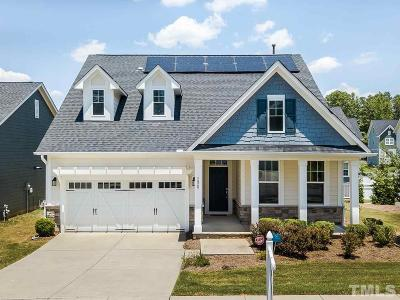 Holly Springs Single Family Home For Sale: 136 Sour Mash Court