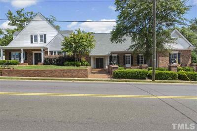 Wake County Commercial For Sale: 201 E Academy Street