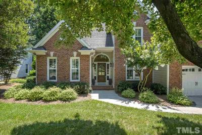 Raleigh Single Family Home Pending: 2404 Wertherson Lane