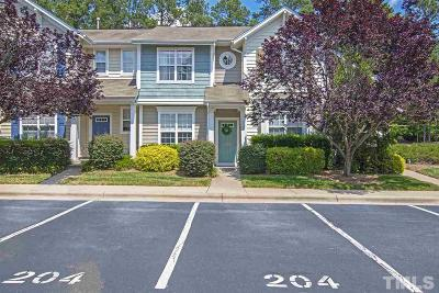Morrisville Townhouse Contingent: 204 Tylerway Lane