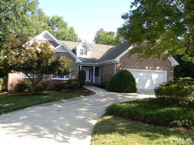 Cary Single Family Home Contingent: 100 St Lenville Drive