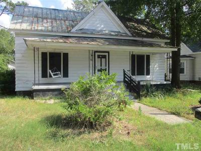 Zebulon Single Family Home Pending: 111 W Sycamore Drive