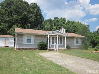 Wendell Single Family Home Pending: 936 Wickett Circle