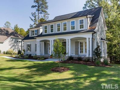 Wake Forest Single Family Home For Sale: 1344 Reservoir View Lane #Lt21