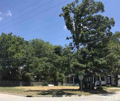 Wake County Residential Lots & Land For Sale: 200 N Mason Street
