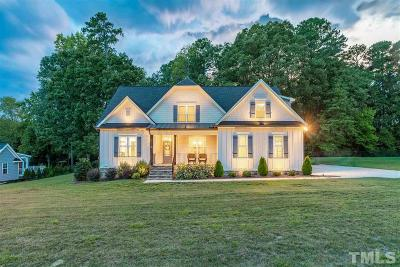 Zebulon Single Family Home For Sale: 9417 Heritage Landing Court