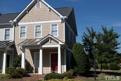 Chatham County Townhouse Contingent: 10029 David Stone Drive