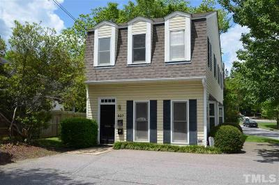 Wake County Commercial For Sale: 827 N Bloodworth Street #Ground L