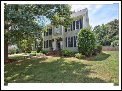 Chapel Hill Single Family Home Contingent: 106 Sunset Ridge Lane