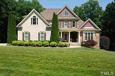 Wake Forest Single Family Home Pending: 1128 Foothills Trail