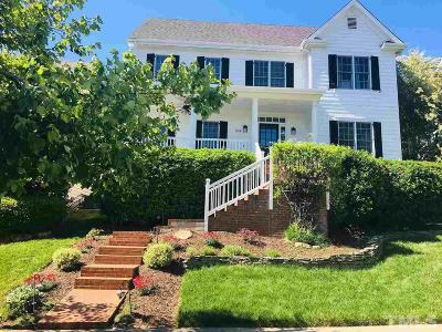 Chapel Hill Single Family Home For Sale: 604 Parkview Crescent