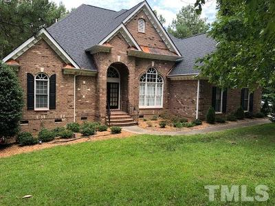 Garner Single Family Home For Sale: 124 Breckenridge Drive