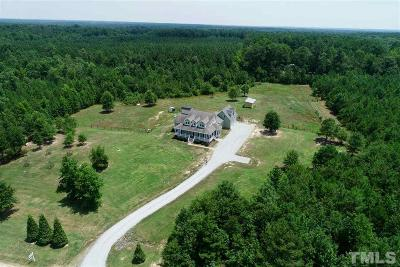 Chatham County Single Family Home Contingent: 500 Kadir Womble Drive