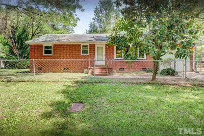 Durham Single Family Home For Sale: 1825 Catalina Street
