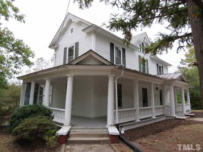 Creedmoor Single Family Home For Sale: 103 W Mangum Street