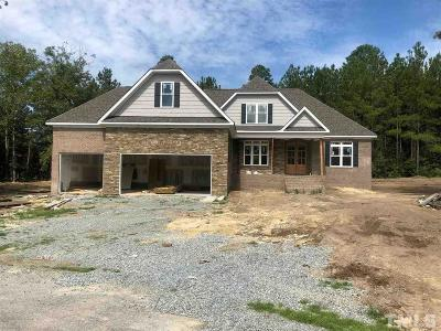 Benson Single Family Home For Sale: 340 Josie Drive