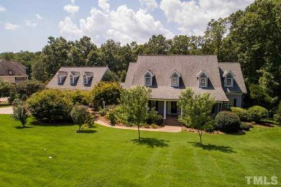 Wake Forest Single Family Home For Sale: 8521 Timberland Drive