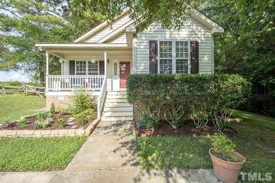 Wake Forest Single Family Home Contingent: 6300 Daybreak Drive