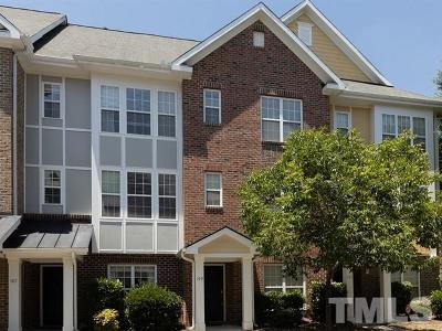 Cary Townhouse For Sale: 149 Dove Cottage Lane