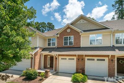Durham County Townhouse For Sale: 10 Abernathy Drive