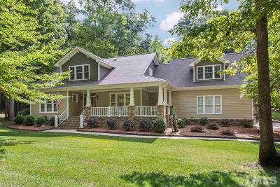 Raleigh Single Family Home Contingent: 5749 Olde South Road