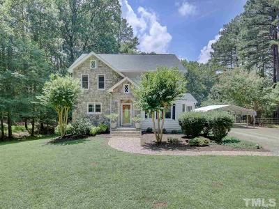 Raleigh Single Family Home For Sale: 1829 Mt Vernon Church Road