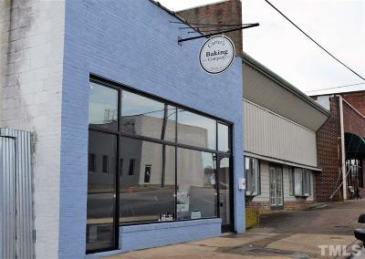 Wake County Commercial For Sale: 114 E Vance Street