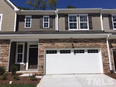 Cary Townhouse For Sale: 1021 Hero Place #09