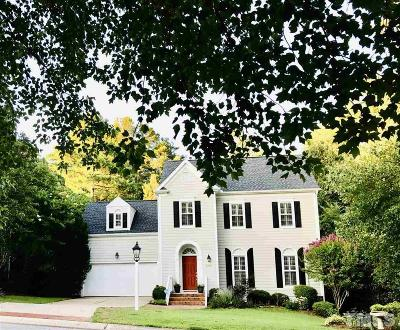 Chapel Hill Single Family Home Pending: 2109 Copeland Way Southwest