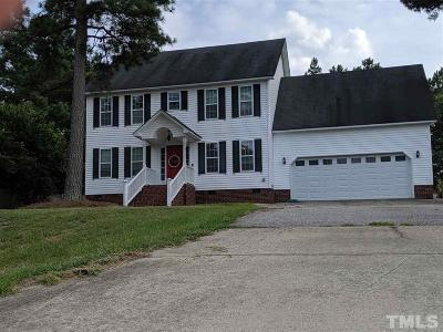 Wendell Single Family Home For Sale: 300 Autumn Ridge Drive