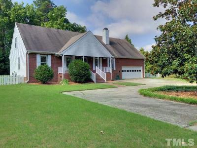 Rolesville Single Family Home Contingent: 124 Blueberry Court