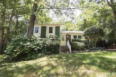 Raleigh Single Family Home Contingent: 8013 Foxwood Drive