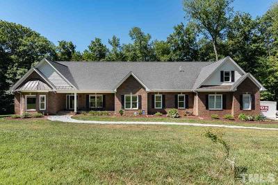 Burlington Single Family Home For Sale: 2389 N Nc 62 Highway