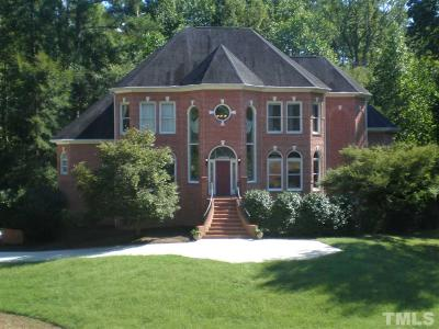 Raleigh Single Family Home For Sale: 1209 Bentham Drive