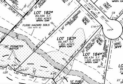 Wake County Residential Lots & Land For Sale: 7636 Ladora Drive