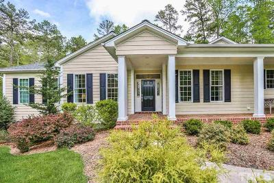 Pittsboro Single Family Home For Sale: 898 Burwell