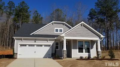 Johnston County Single Family Home Pending: 48 Brunello Court