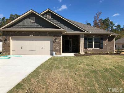 Lillington Single Family Home Pending: 134 Woodwater Circle
