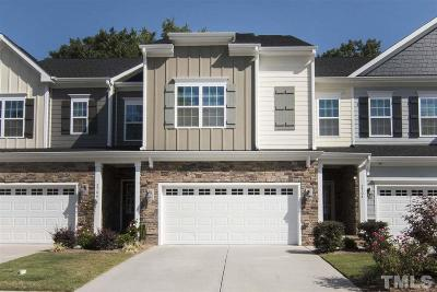 Apex Townhouse For Sale: 2704 Masonboro Ferry Drive