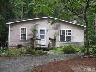 Pittsboro Manufactured Home For Sale: 57 Oldsmobile Drive