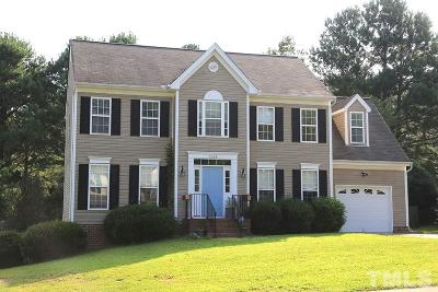 Wake Forest Single Family Home Contingent: 6328 Willowlawn Drive
