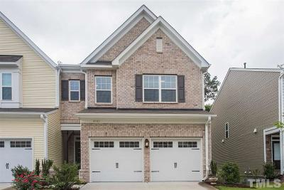 Morrisville Townhouse For Sale: 4347 Pond Pine Trail