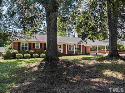 Angier Single Family Home Pending: 123 S Pleasant Street
