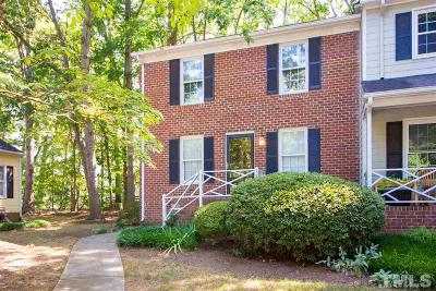 Raleigh Townhouse Contingent: 120 Wythe Circle