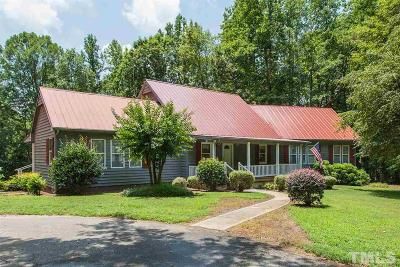 Garner Single Family Home For Sale: 24 Hidden Creek Lane
