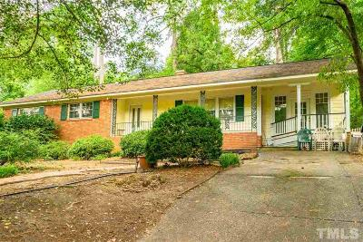 Raleigh Single Family Home For Sale: 3603 Brook Drive