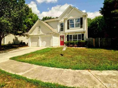 Raleigh Single Family Home For Sale: 5529 Wedgegate Drive
