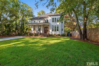 Raleigh Single Family Home For Sale: 1905 Pine Drive