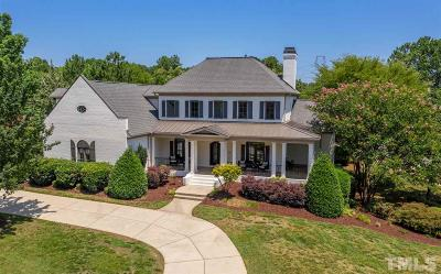 Raleigh Single Family Home Contingent: 2625 Village Manor Way